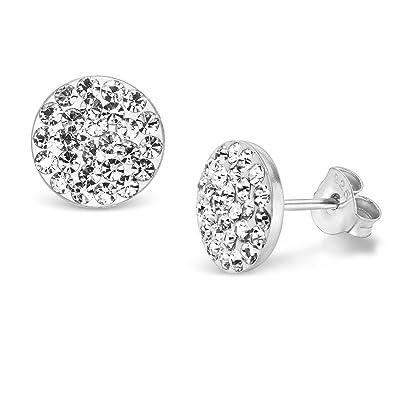 Ohrringe silber mit steinen