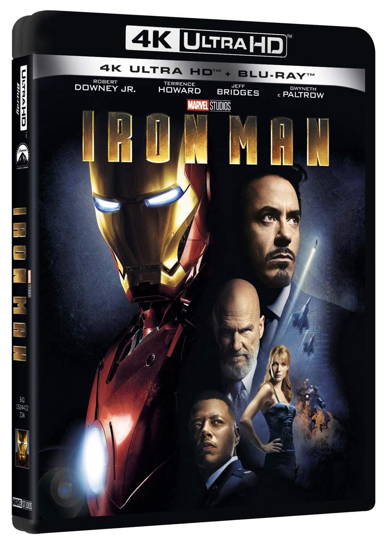 Iron Man Blu-Ray 4K Ultra Hd+Blu-Ray Italia Blu-ray: Amazon.es: Jeff Bridges, Robert Downey Jr, Clark Gregg, Terrence Howard, Gwyneth Paltrow, Shaun Toub, Jon Favreau, Jeff Bridges, Robert Downey Jr: Cine y Series