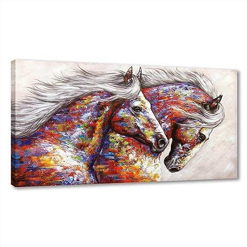 Framed Horse Decor Wall Art