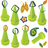 Ultimate Border Buddy & Quilling Tool With 7 Shape Towers For Making Paper Quilling Shapes & Designs
