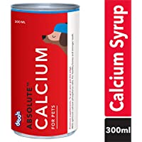 Drools Absolute Calcium Syrup- Dog Supplement, 300ml