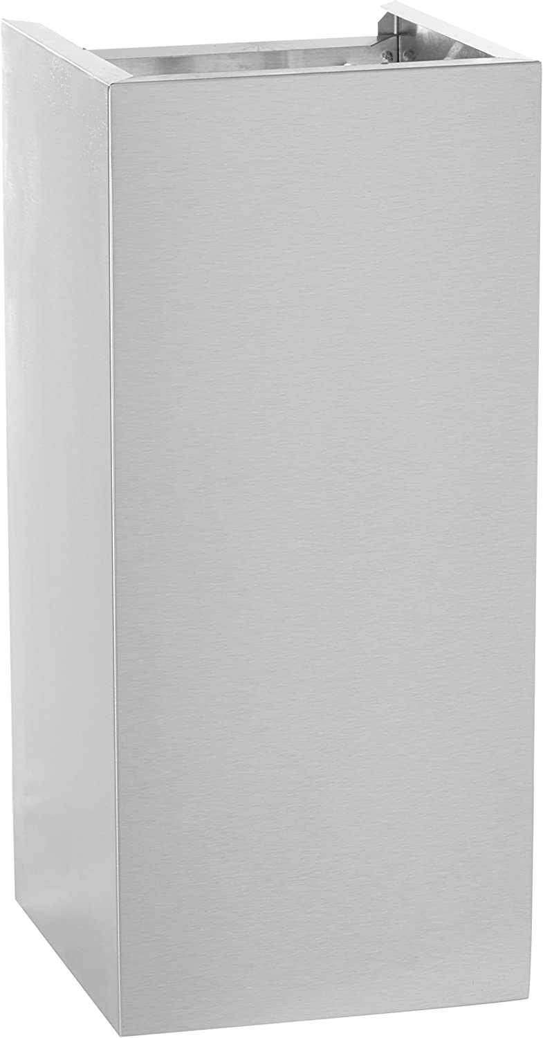 B0019MNDHA Vent-A-Hood WDC-10/22 SS Duct Cover for Euro-Style Wall Mount Range Hood 8' Ceiling, Stainless Steel 71hBRCoj4bL