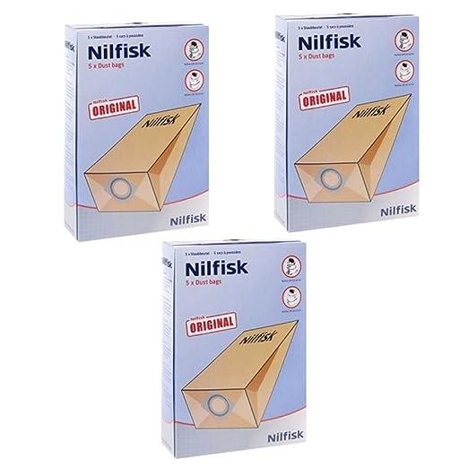 Nilfisk G90 GM80 GM90 - Bolsas para aspiradora (15 Unidades ...