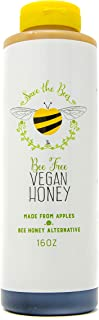 product image for Blenditup Bee Free Vegan Honey (16 Oz) - Plant Based & All Natural Apple Made Honey - Ideal for Sweetening Foods of Your Choice