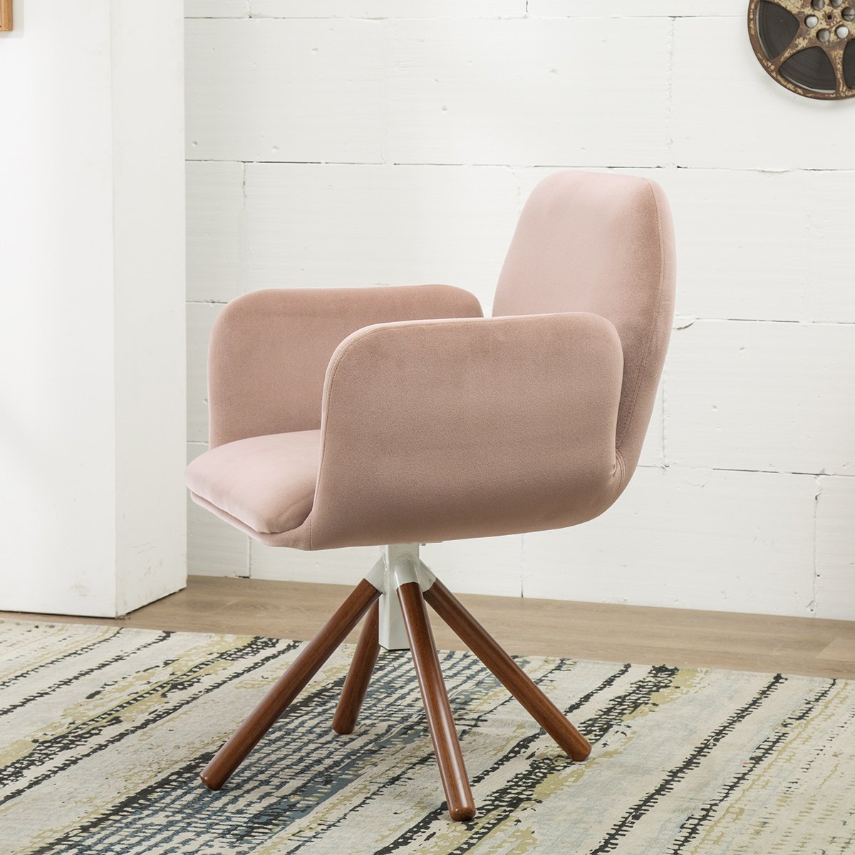 Living Room Chair Leisure Arm Chair Sofa Modern Living Room Accent Armchair by KERMS