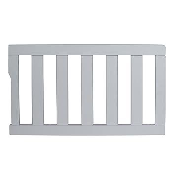 Dream On Me Universal Convertible Crib Toddler Guard Rail Storm Grey