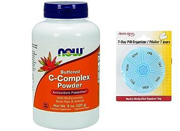 HOY complejo de vitamina C en polvo, 8 onzas