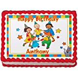 Amazoncom Caillou Edible Image Cake Topper Toys Games
