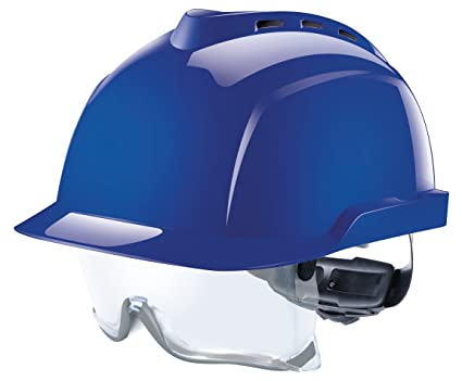 MSA Safety V-Gard 930 Professional Working Helmet | Certified According to  DIN EN397 | with Ventilation and Fasttrack Setting Dial Regulation | incl