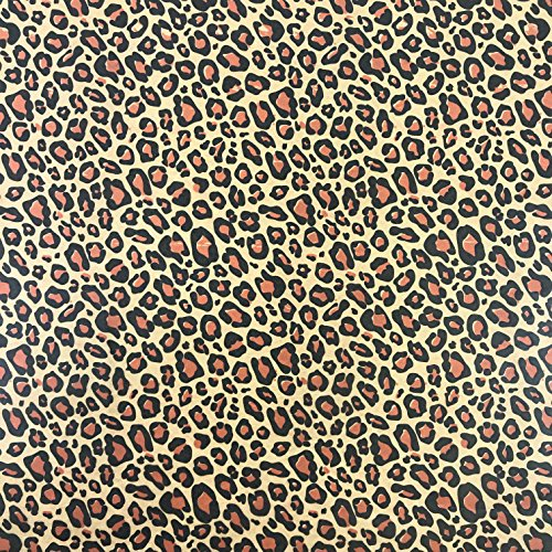 Black Cat Avenue 20'' x 30'' Printed Tissue Paper For Gift Wrapping, 24-Sheet, Leopard by Black Cat Avenue