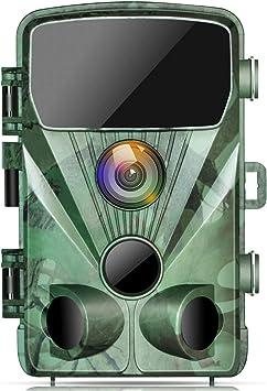 Trail Hunting Camera Outdoor 20MP 1080P Game Wildlife Cam PIR Night Vision IP56