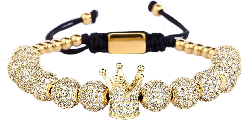 MAOCEN Men Women Bracelets...