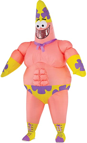 Patrick Star//Spongebob Mascot Costumes Christmas Party Outfits Adult Fancy Dress