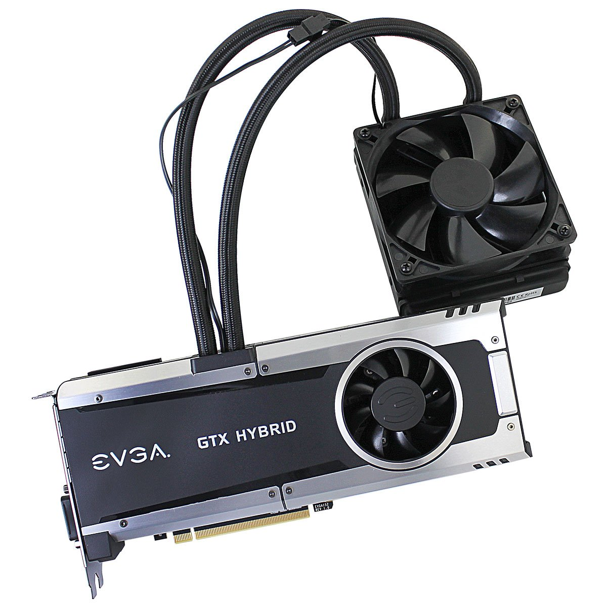 EVGA GeForce GTX 980 Ti 6GB HYBRID GAMING, ''All in One'' No Hassle Water Cooling, Just Plug and Play Graphics Card 06G-P4-1996-KR by EVGA (Image #4)