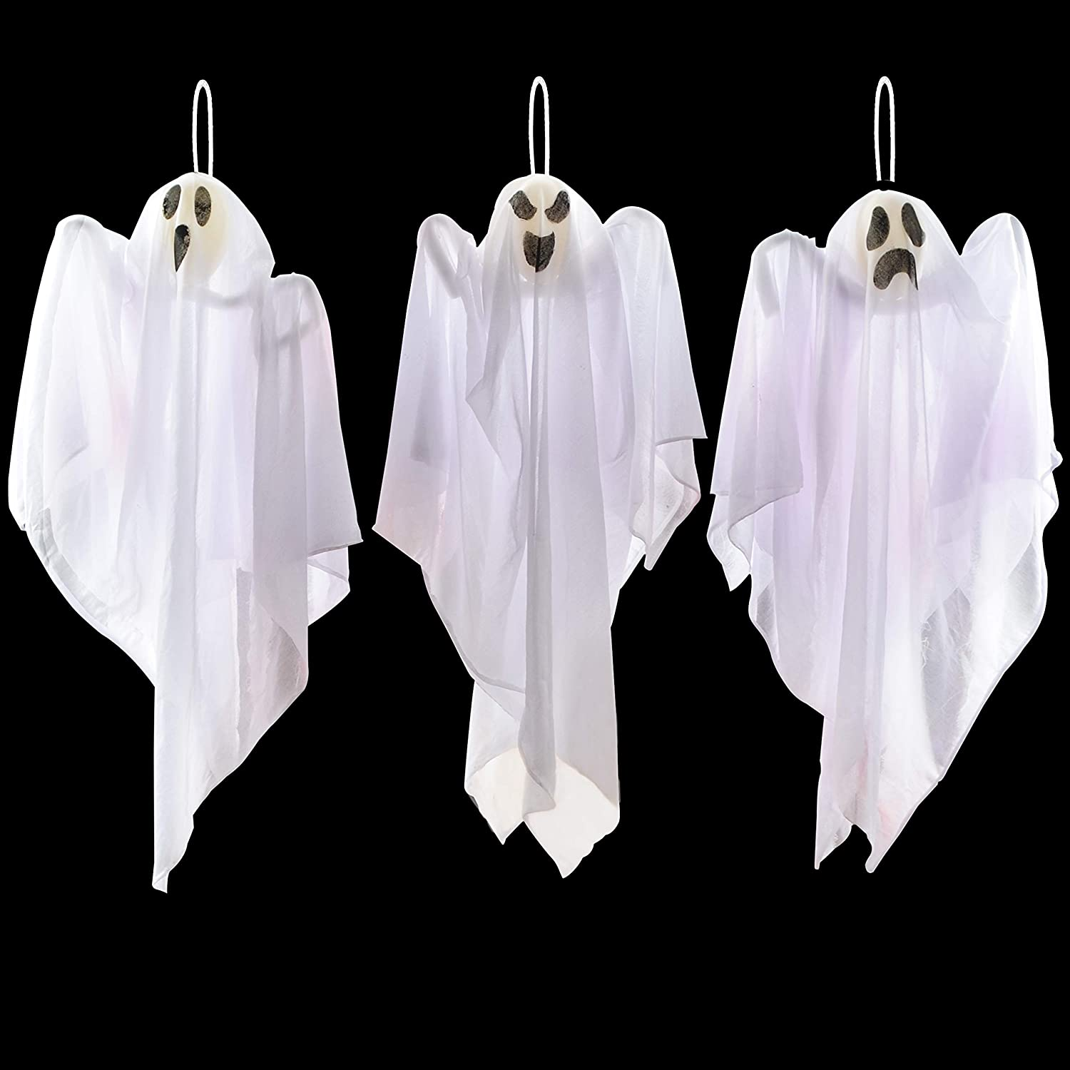 Fabric Hanging Ghosts