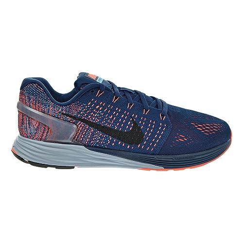 a7728640554f8 Nike Lunarglide 7 Men s Shoes Brave Blue Black Blue Lagoon 747355-404 (
