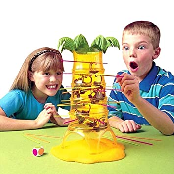 HOT Falling Tumbling Monkey Family Toy One Size Climbing Board Game Kids