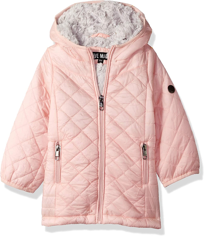 Steve Madden Baby Girls Fashion Glacier Shield Jacket