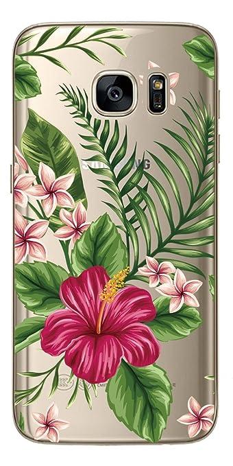 2 opinioni per NOVAGO Custodia del gel di silicone per Samsung Galaxy S7 ( Bouquet di fiori