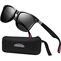 Perfectmiaoxuan Gafas de sol polarizadas Hombre Mujere Retro/Aire libre Deportes Golf Ciclismo Pesca Senderismo 100…