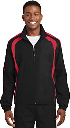 Sport Tek Men S Colorblock Raglan Jacket At Amazon Men S Clothing Store ✅ browse our daily deals for even more savings! sport tek men s colorblock raglan jacket