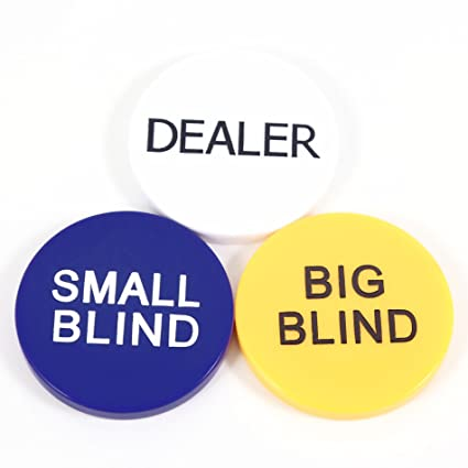 Ids Home Small Blind Big Blind And Dealer Button Poker Lot