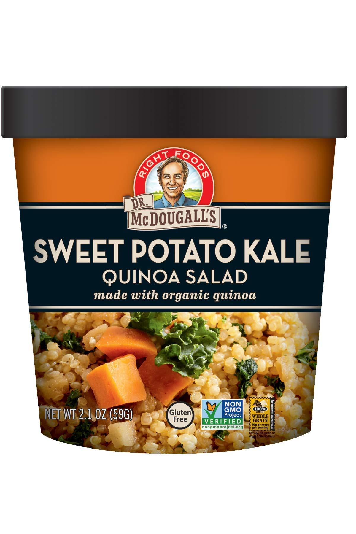 Dr. McDougall's Sweet Potato Kale Quinoa Salad, 2.1 Ounce by Dr. McDougall's