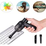 Cordless Keyboard Cleaner,with Portale Rechargeable Mini Vacuum Cleaner, Best Cleaner for Cleaning Computer Keyboards, Dust, Cars, Piano, Hairs, Crumbs, Sofas, Pets, Corners and so on
