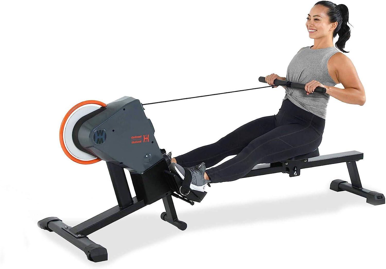 Women's Health Men's Health Bluetooth Rower Rowing Machine with MyCloudFitness App