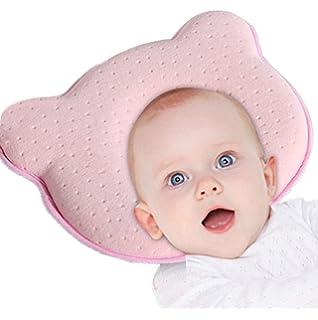 Almohada para bebé, almohada de espuma viscoelástica para bebé ...
