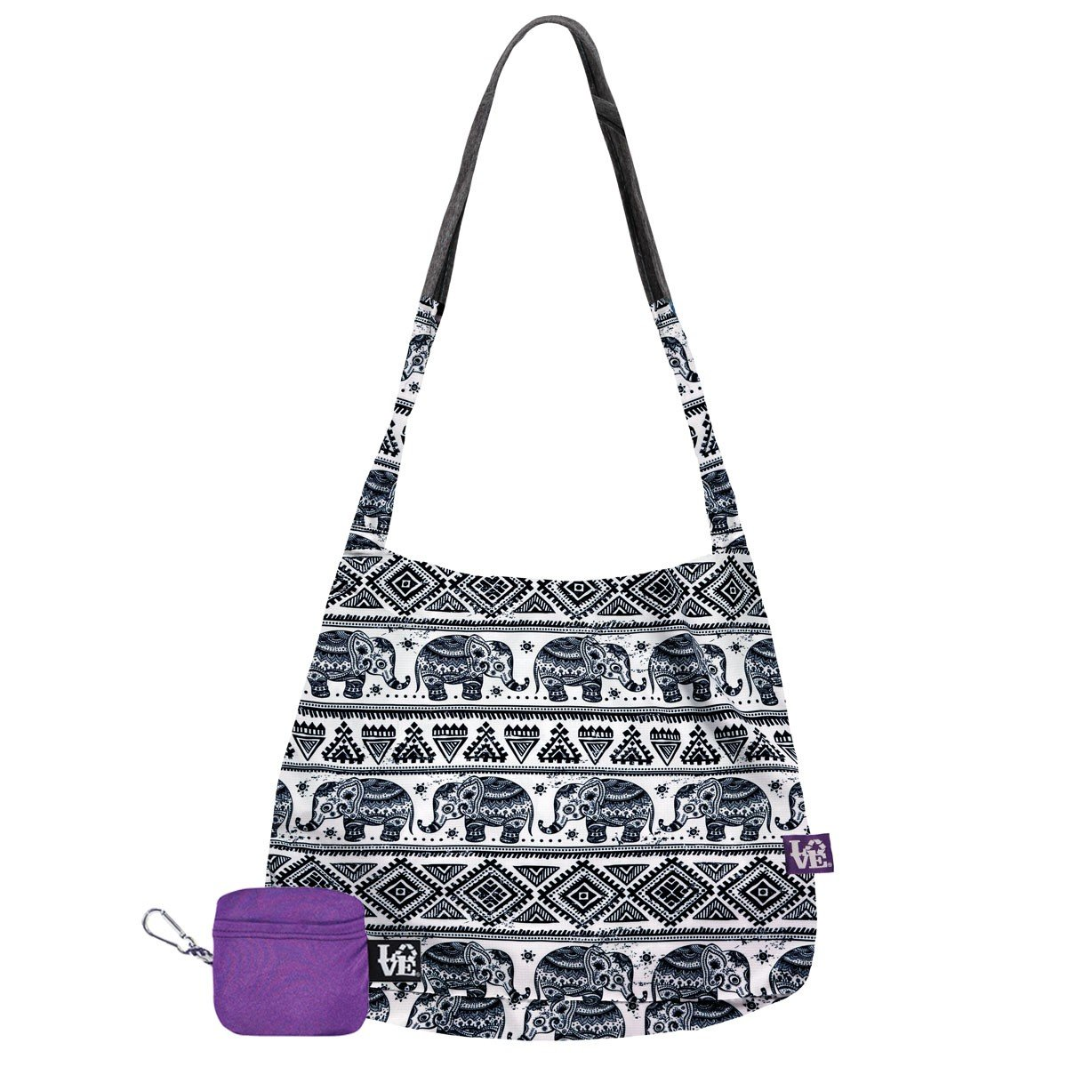 d61f944579 Amazon.com  Love Reusable Bags Stash It Tote in Elephant in the Room  Shoes