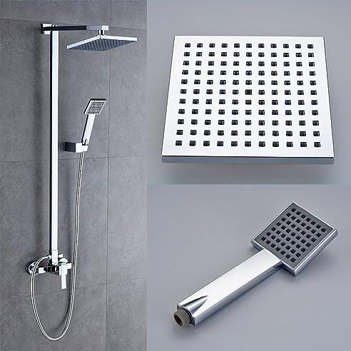 auralum® design-dusch-system für regendusche, set mit ... - Regendusche Test