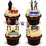 WWE SUPERSTARS 24 EDIBLE WAFER - RICE PAPER CAKE TOPPERS ...