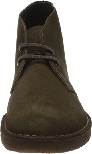 Clarks Desert Boot, Stivali Chukka da uomo, Verde (Grün