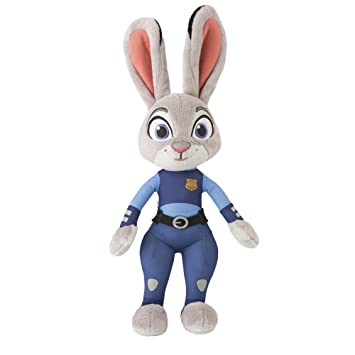 TOMY - Agente de Zootropolis Judy Hopps de Peluche con Sonido