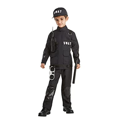 Career Day Swat Costume, Small 4-6: Toys & Games
