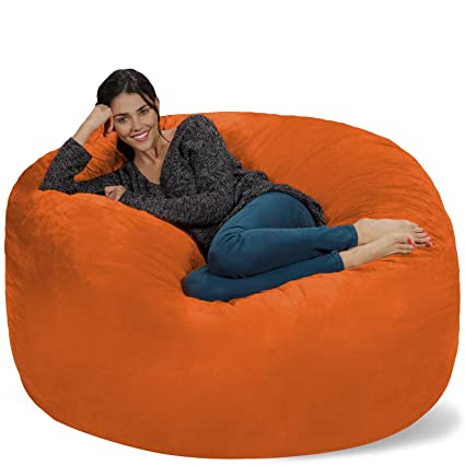 442407b3dc22 Image Unavailable. Image not available for. Color  Chill Sack Bean Bag Chair   Giant ...