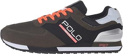 Polo Sport RALPH LAUREN - Zapatillas de Piel para Hombre Negro ...