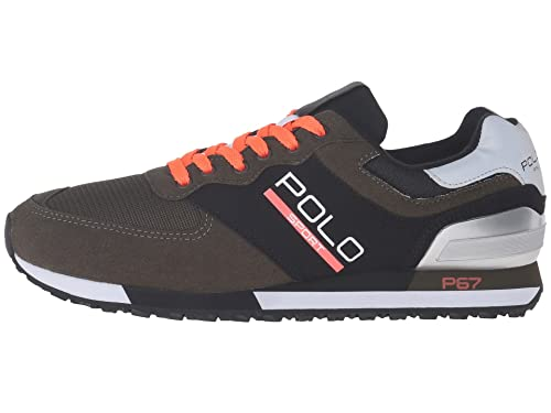 Polo Sport RALPH LAUREN - Zapatillas de Piel para Hombre Negro Negro Verde Size: 46: Amazon.es: Zapatos y complementos