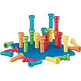 Lauri Tall-积木 - 拼插堆高塑料玩具套装