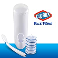 Deals on Clorox ToiletWand Disposable Toilet Cleaning System w/6 Refill