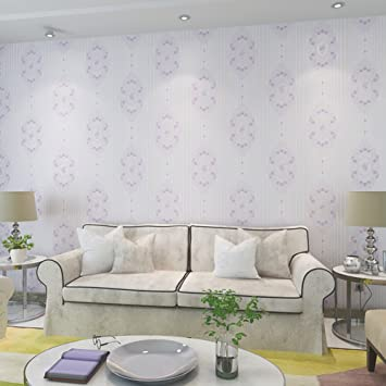 amazon co jp modern garden non woven wallpaper simple clear
