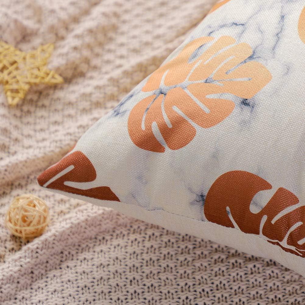 Artscope Lot de 4 Housse de Coussin 45 x 45 cm Coton et Lin D/écoratif Taie doreiller de Voiture Canap/é Maison D/écor Housses de Coussin Aigle