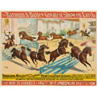 Barnum and Bailey - High Class Equestrians Vintage Poster USA c. 1893 (12x18 Art Print, Wall Decor Travel Poster)