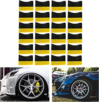 Set of 2 Tire Dressing Applicator Hex Waxing Pad Car Sponge Car Polisher