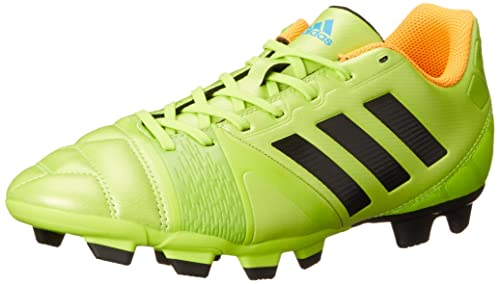 official photos ee2f6 71cc6 adidas Performance Men s Nitrocharge 3.0 TRX Firm-Ground Soccer Cleat, Solar  Slime Black
