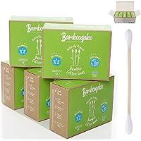 1.000 BAMBOOGALOO Biologische Bamboe Katoen Knoppen -100% Plastic Vrij. Milieuvriendelijk & Biologisch afbreekbaar…