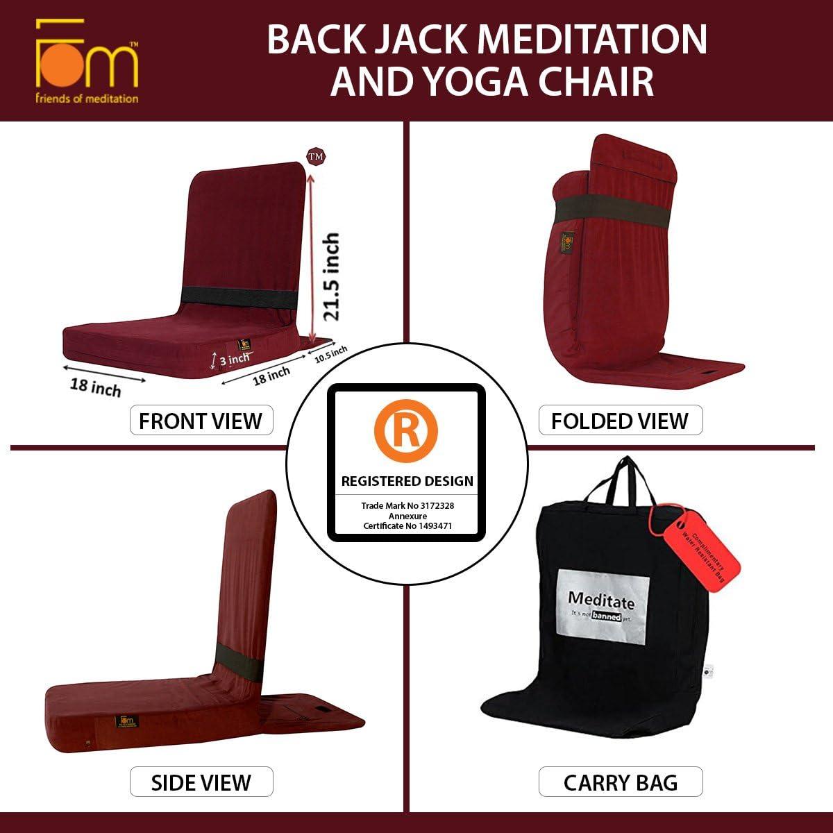 Friends of Meditation Eseguire Il Jack Meditazione e Yoga Chair FOM