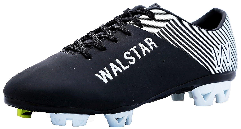 walstarメンズサッカーシューズManchester Kingブラック B00EIW8QXY 9.5 D(M) US