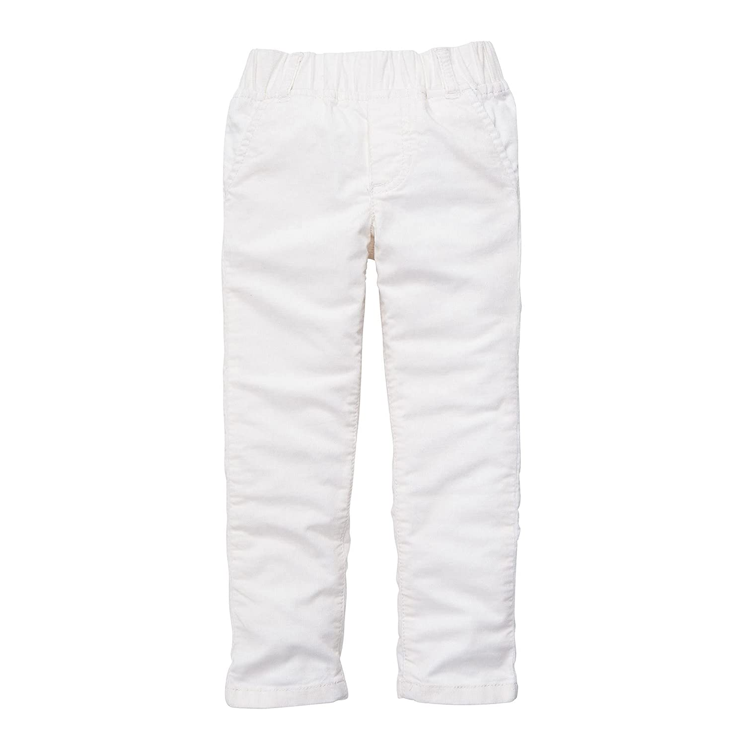 Carters Baby Girls Off-White Thin Corduroy Jeggings